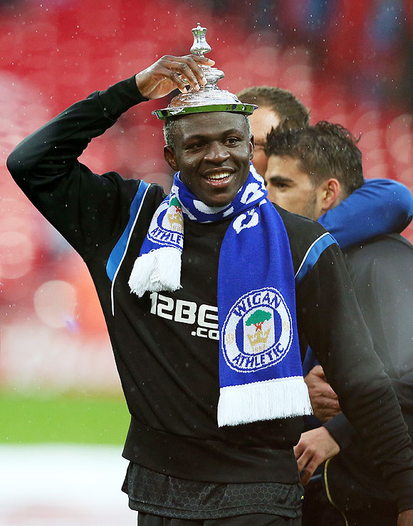 Arouna Kone of Wigan Athletic