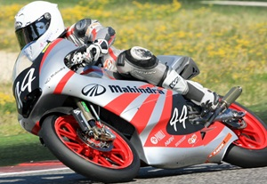 Double top-six result for Mahindra at Moto3