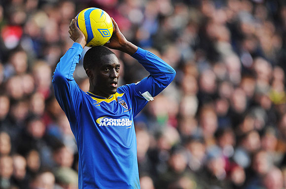 Curtis Osano during his time at AFC Wimbledon
