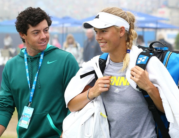 Rory McIlroy and girlfriend Caroline Wozniacki