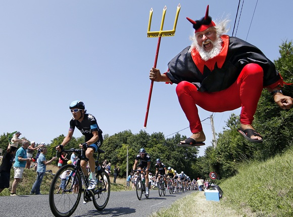 PHOTOS: The colourful Tour de France fans