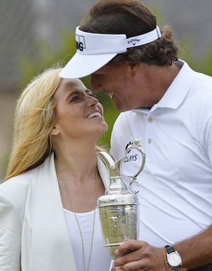 Mickelson climbs rankings after British Open victory