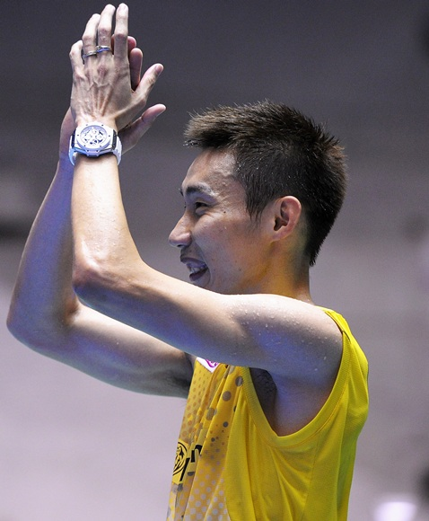Lee Chong Wei of Malaysia