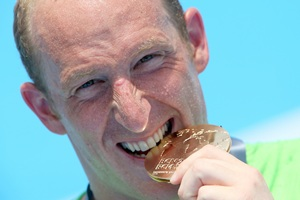 Gritty German Lurz makes history with 25-km gold