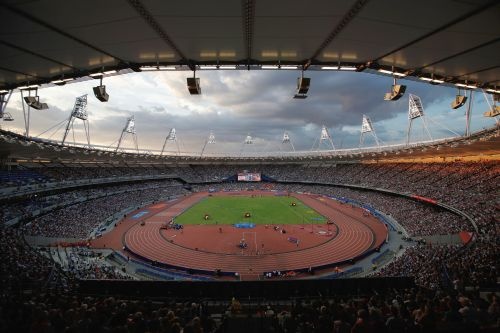 PHOTOS: Bolt blazes at London Olympics anniversary meet
