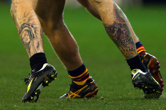 PHOTOS: 20 Athletes tattooed to tease