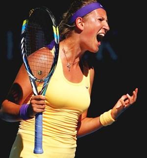 Confident Victoria Azarenka back on the court