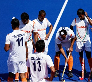 India hockey players