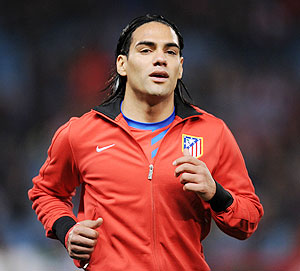 Rediff Sports - Cricket, Indian hockey, Tennis, Football, Chess, Golf - Football: Monaco buy Atletico's Falcao for 50 mln Euros