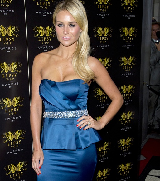 Alex Gerrard attends the Lipsy VIP Fashion Awards 2013