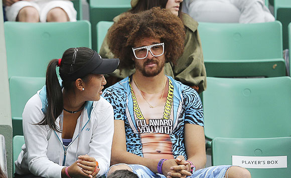 Look who was spotted at the French Open!