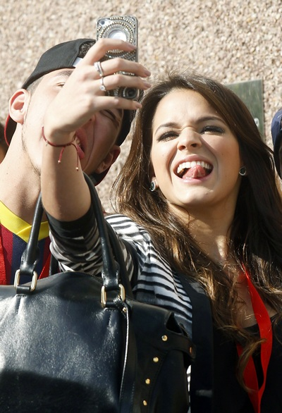 Bruna Marquezine, actress and girlfriend of Brazilian soccer player Neymar