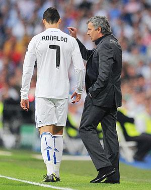 Cristiano Ronaldo with Rafael Nadal