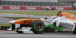 Force India celebrates 100th GP with double-score