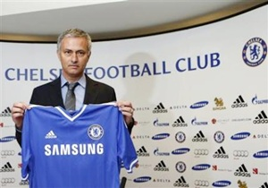 Newly appointed Chelsea coach Jose Mourinho