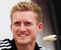 Rediff Sports - Cricket, Indian hockey, Tennis, Football, Chess, Golf - Chelsea agree to buy Leverkusen winger Schuerrle