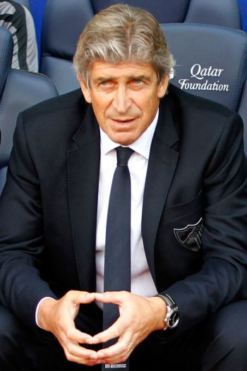 Rediff Sports - Cricket, Indian hockey, Tennis, Football, Chess, Golf - Man City eye trophies with Pellegrini appointment