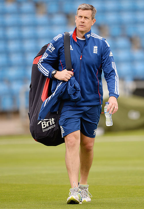England coach Ashley Giles
