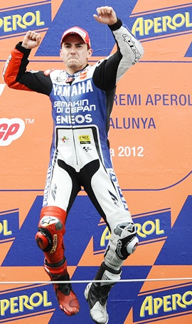 Lorenzo trims gap to Pedrosa with Montmelo win