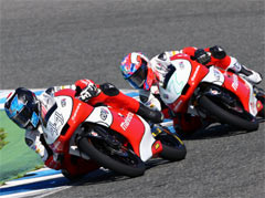 Rediff Sports - Cricket, Indian hockey, Tennis, Football, Chess, Golf - Moto3: Double top six finish for Mahindra Racing in Barcelona