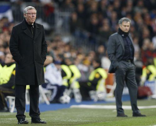 Alex Ferguson and Jose Mourinho