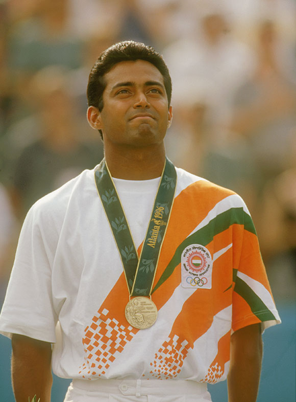 Leander Paes at the 1996 Atlanta Olympics