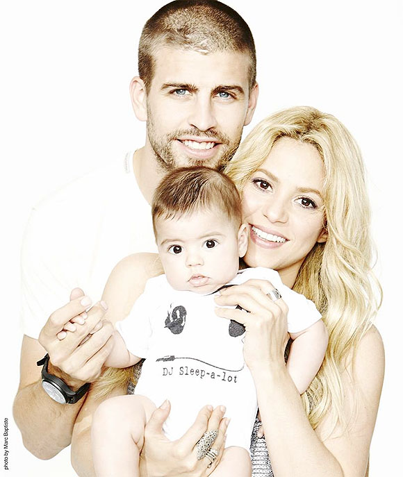 Rediff Sports - Cricket, Indian hockey, Tennis, Football, Chess, Golf - Shakira and Pique send Father's Day greetings to fans