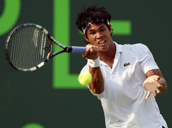 Rediff Sports - Cricket, Indian hockey, Tennis, Football, Chess, Golf - Somdev bows out of Wimbledon qualifiers