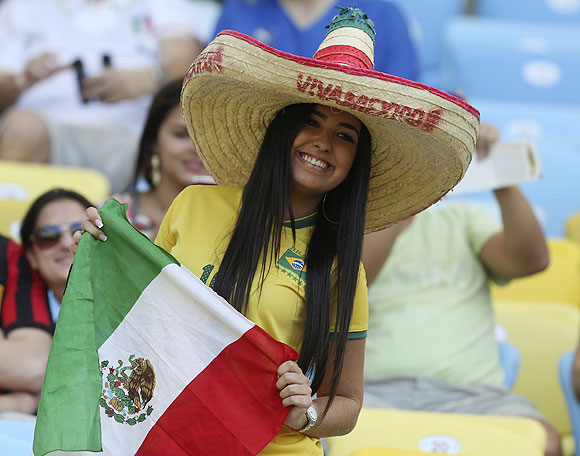 Fans add flavour to the football at Confederations Cup