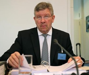 Ross Brawn at the hearing