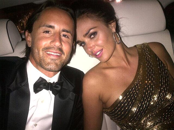 Tamara Ecclestone with husband Jay Rutland
