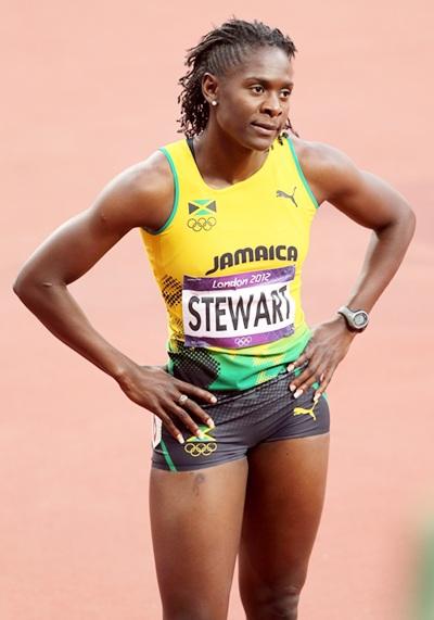Kerron Stewart of Jamaica