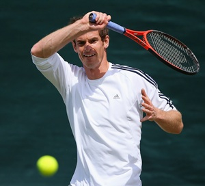 No complaints from Murray at being in tough half