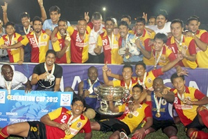 AIFF yet to pay East Bengal Fed Cup win's prize money