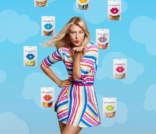 Sweet' Sharapova annoys sugar critics