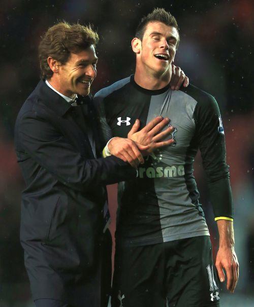 Andre Villas Boas and Gareth Bale
