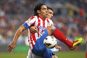 Atletico Madrid's Radamel Falcao