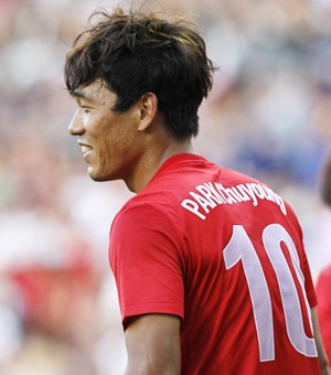 South Korea's Park Chu-young