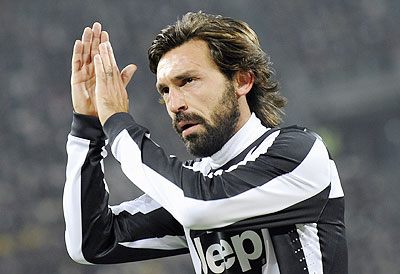 Juve's Andrea Pirlo