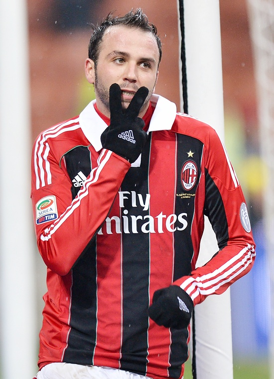 Giampaolo Pazzini of Milan