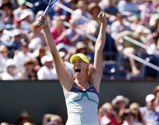 Sharapova made a fast start