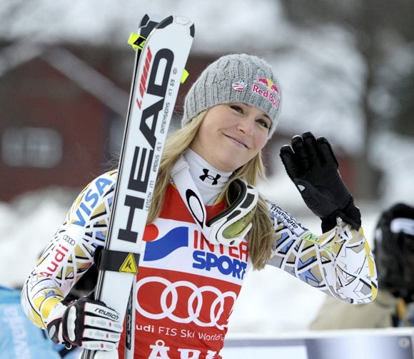 US skier Lindsey Vonn
