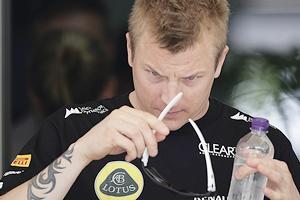 Lotus Formula One driver Kimi Raikkonen
