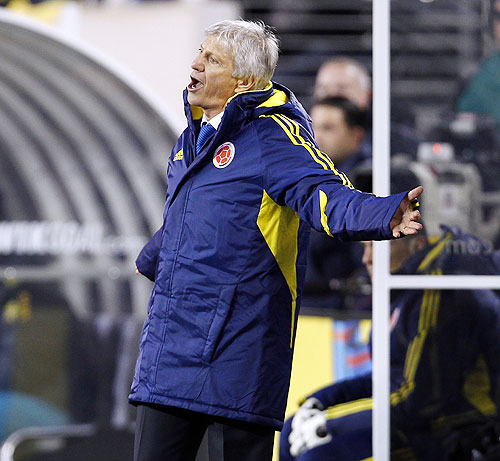 Colombia's head coach Jose Pekerman