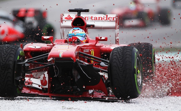 Ferrari Formula One driver Fernando Alonso of Spain