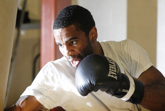 Lamont Peterson of the US