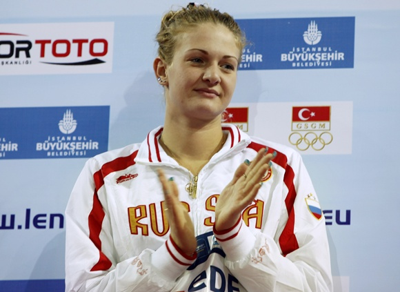 Ksenia Moskvina of Russia
