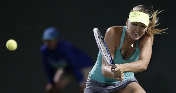 I need that tape so I can go home and study it and train and try to get better: Sharapova