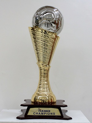 The new I-League trophy