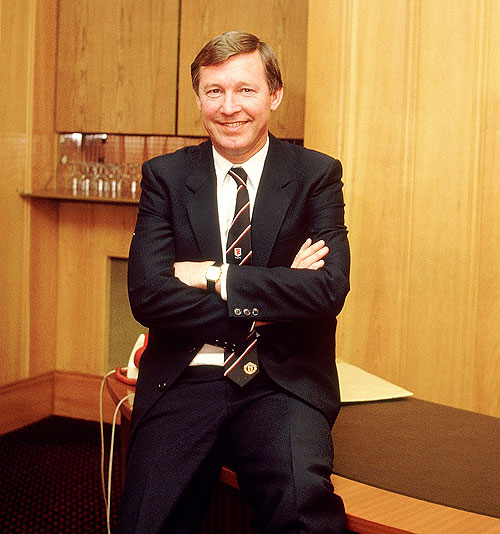 Sir Alex's glittering managerial career